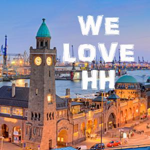We love Hamburg